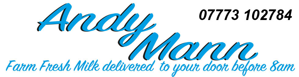 ANDY MANN milk delivered to your door by 8am